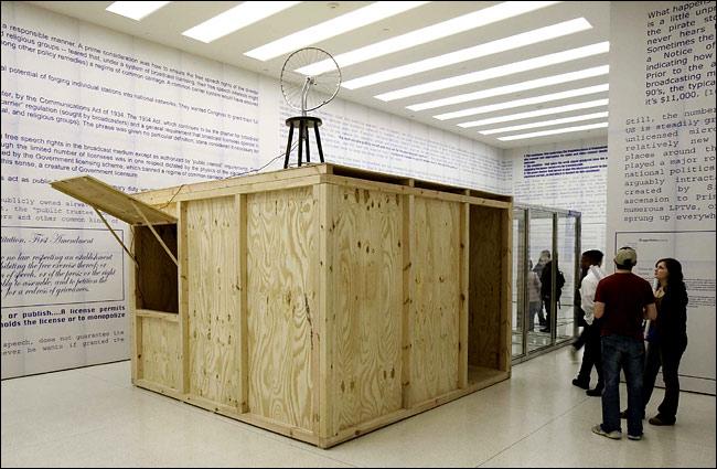 "Rirkrit Tiravanija's ""Untitled 2005..."""
