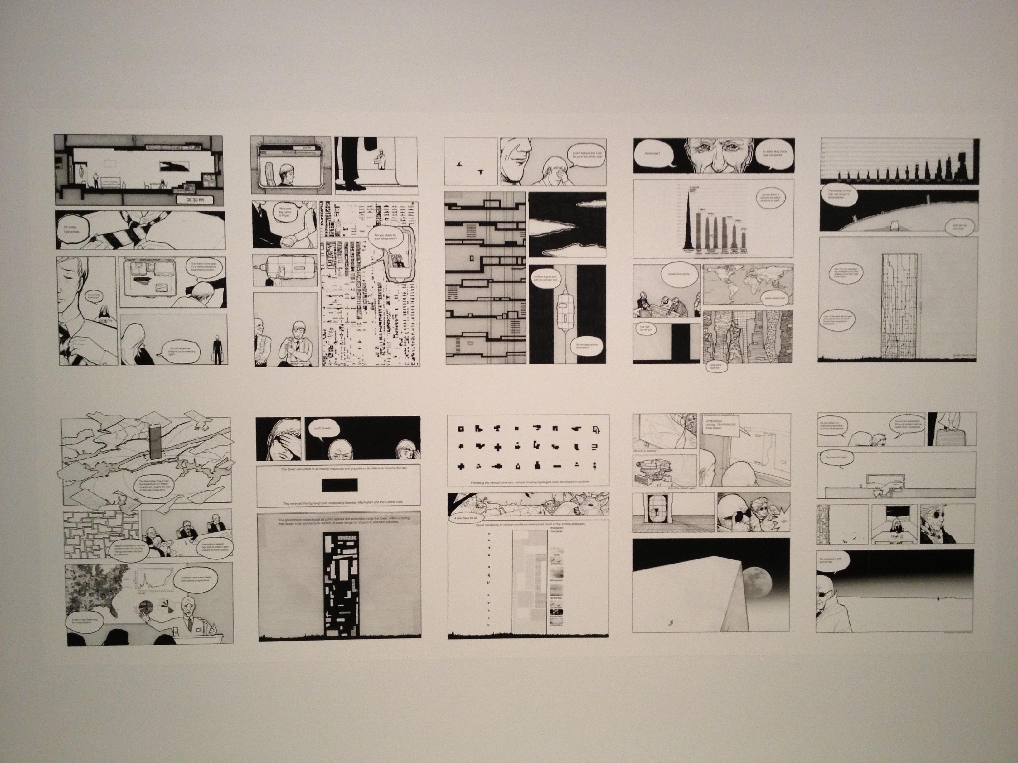 More fabricating place -- Jiminez Lai, whom I saw last year at SVA, @ the Bildmuseet
