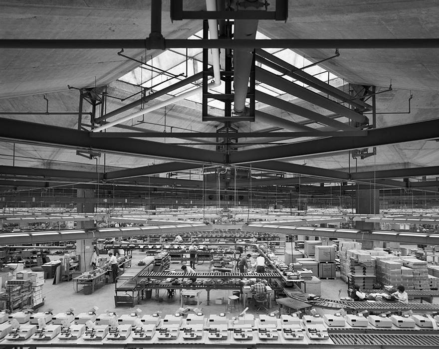 Olivetti Underwood (typewriter) factory, via  Yossi Milo