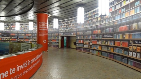 Vodafone's Bucharest Metro Library