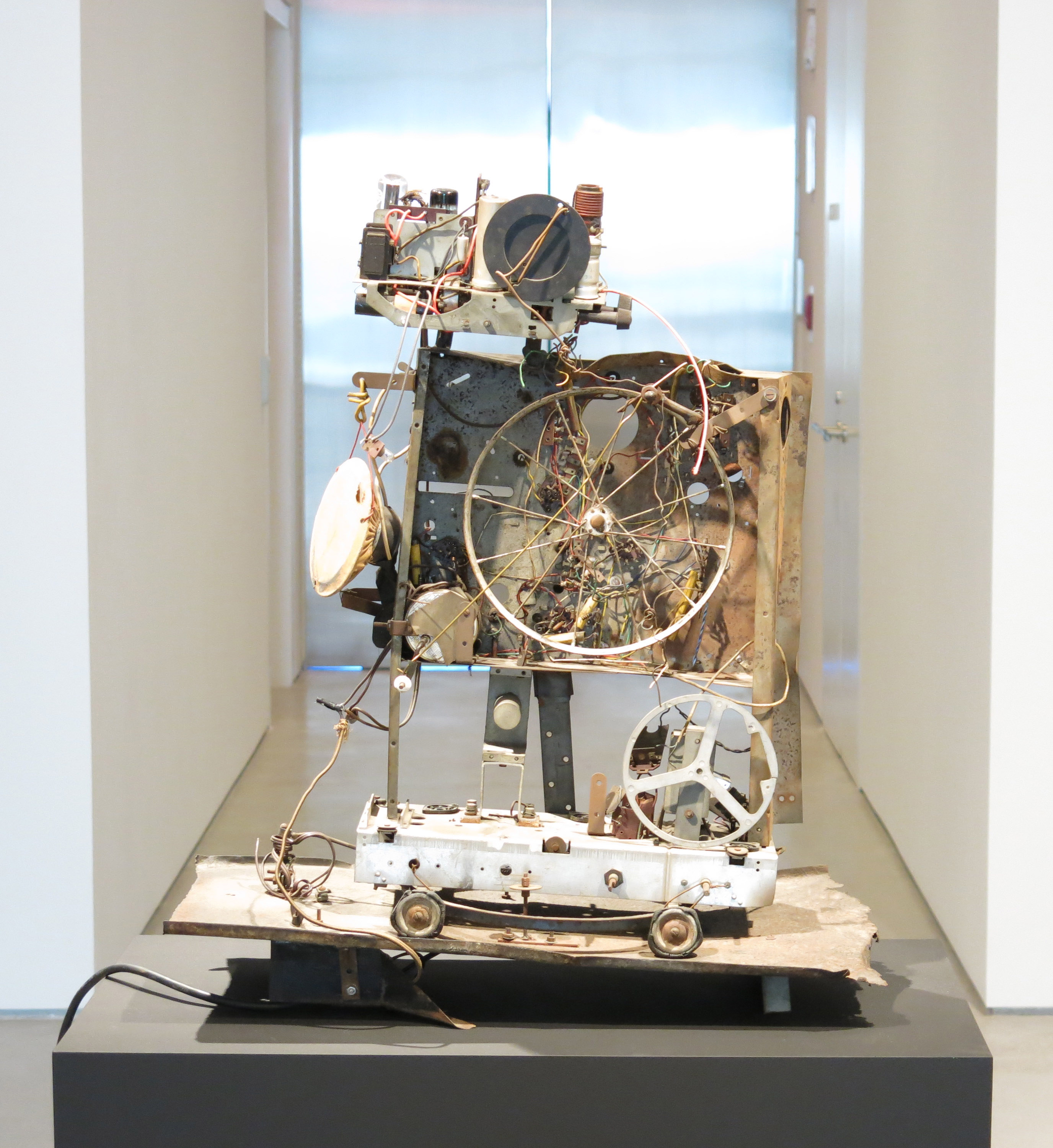 Tinguely's Radio No. 1, via Sperone Westwater