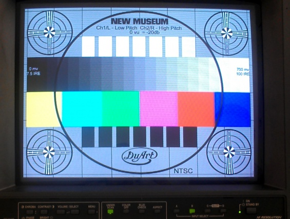 "Cover Image: ""XFR STN"" Test Pattern, created by DuArt. Courtesy DuArt Restoration"