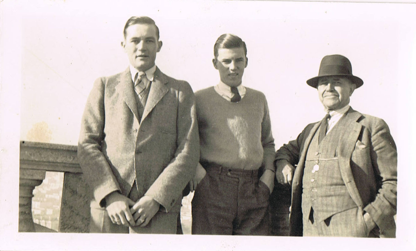 PopPop and his father, far right.