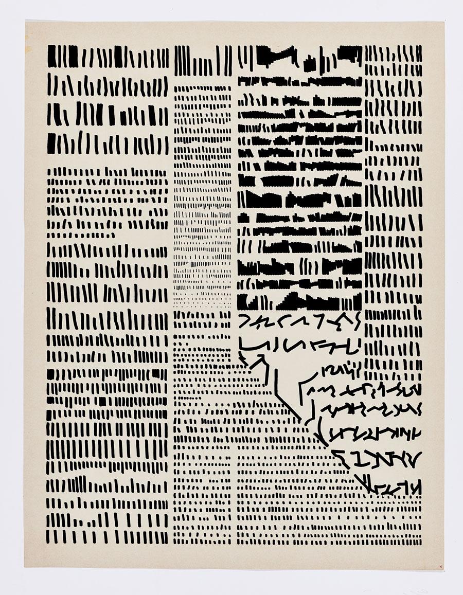 Mirtha Dirmisache's Diario, via Drawing Center