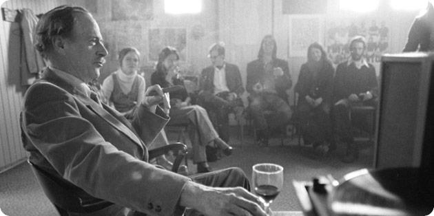 Marshall McLuhan. (Image: Robert Lansdale Photography/University of Toronto Archives); via Toronto Life