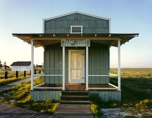 Tulare County Free Library, Allensworth, California. Robert Dawson + Josh Wallaert. Via Places
