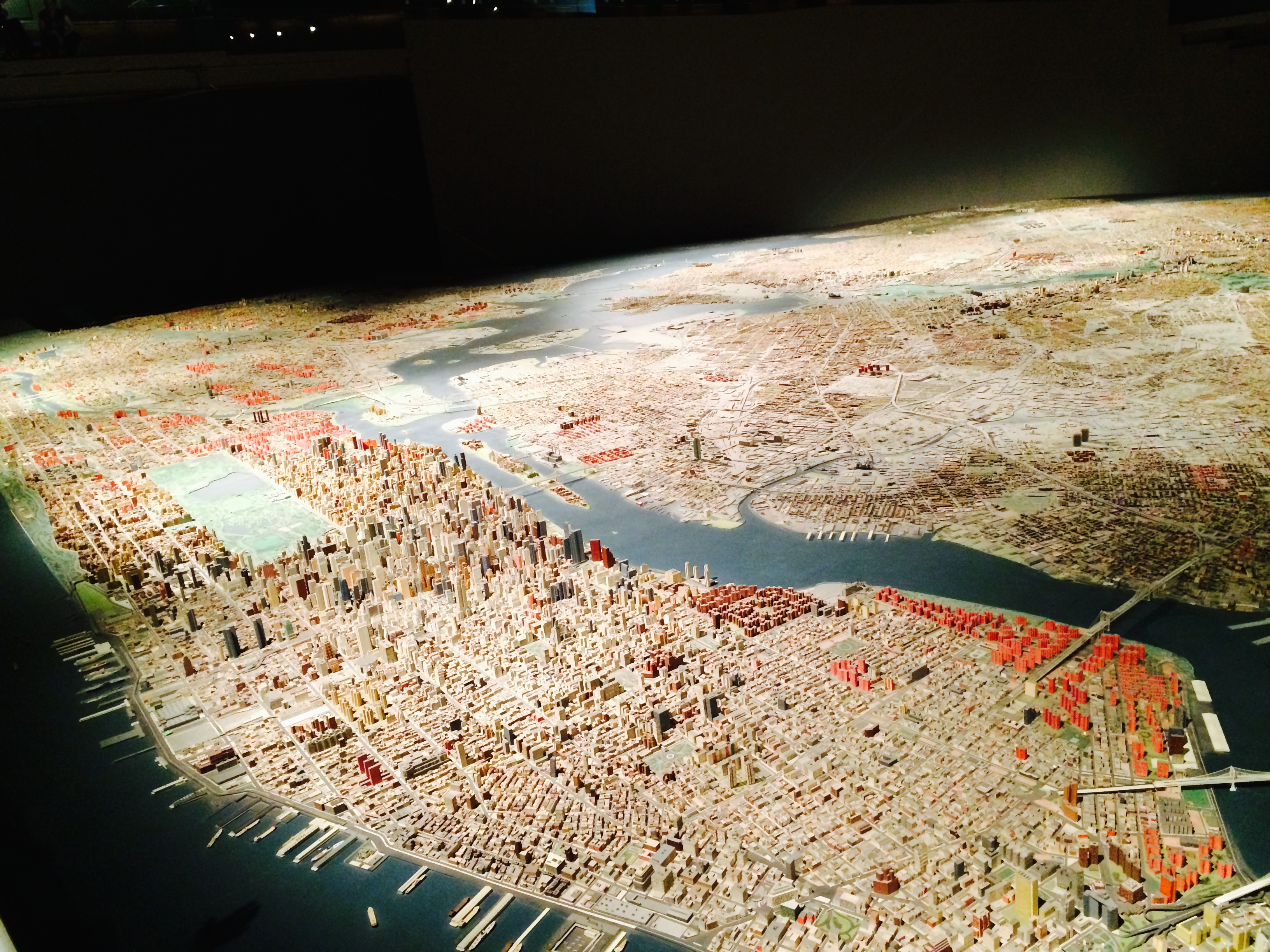 The panorama @ Queens Museum