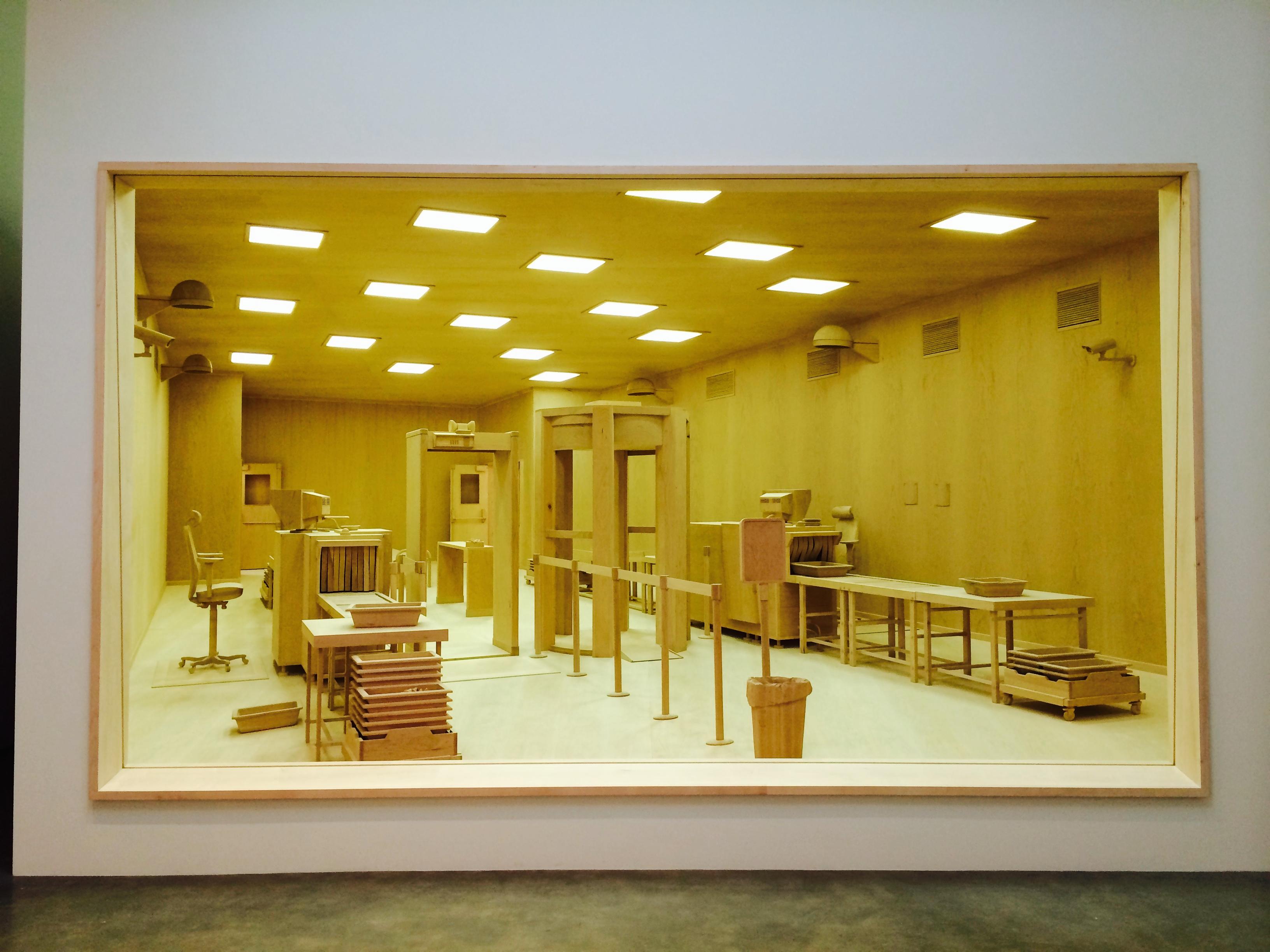 Roxy Paine, Diorama