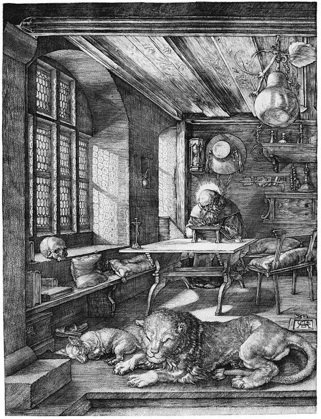 Albrecht Dürer, St. Jerome in his Study, 1514