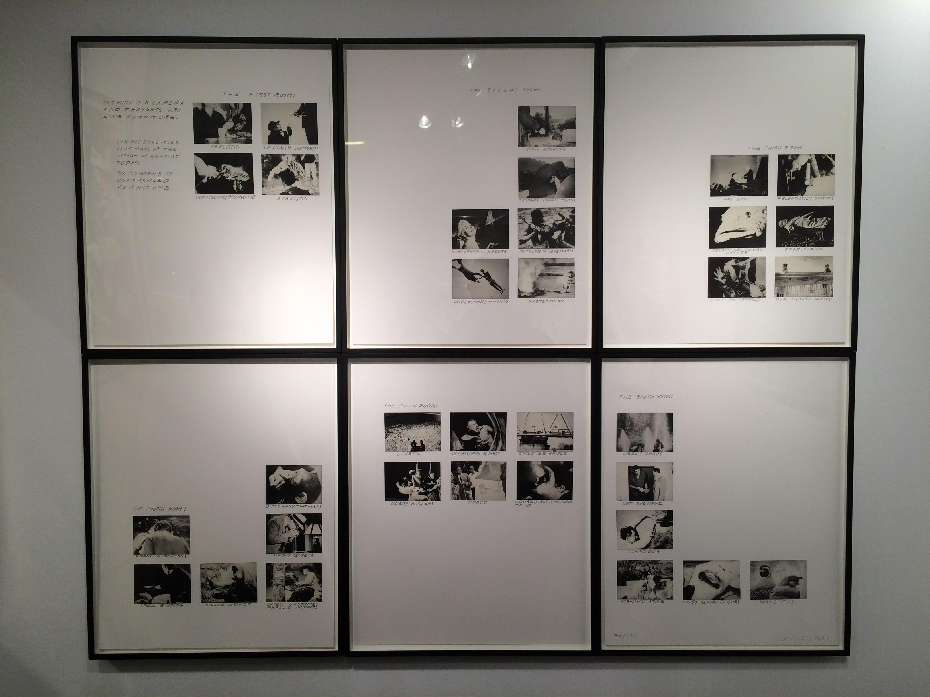 John Baldessari, Six Rooms -- I WANT THIS!!!!!!