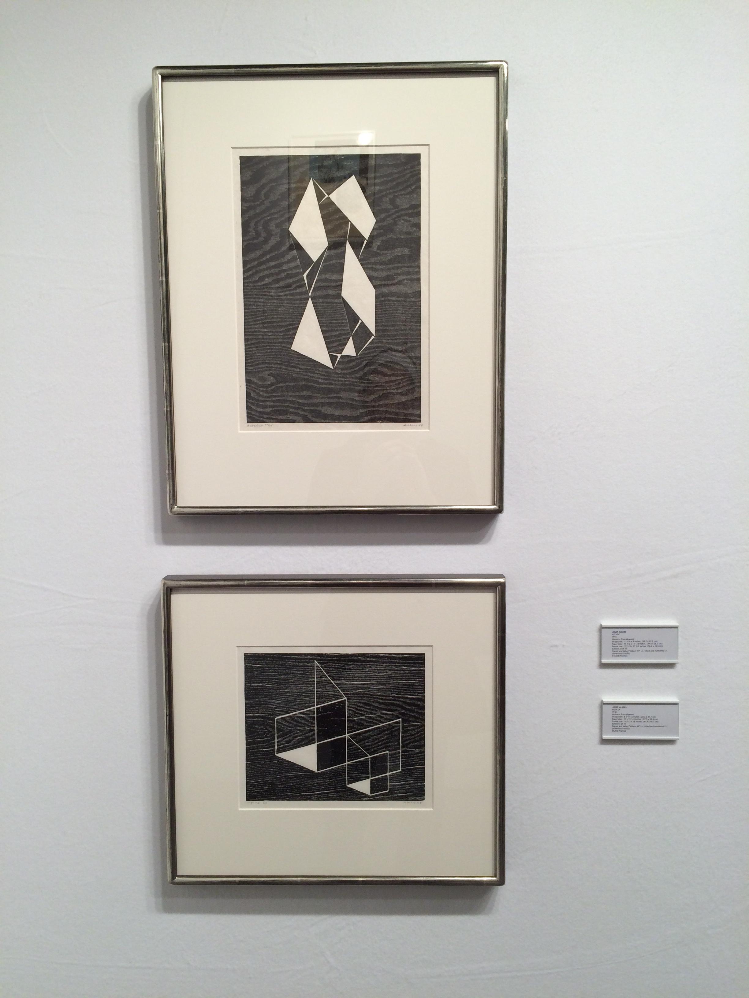 Josef Albers, Astatic + High Up