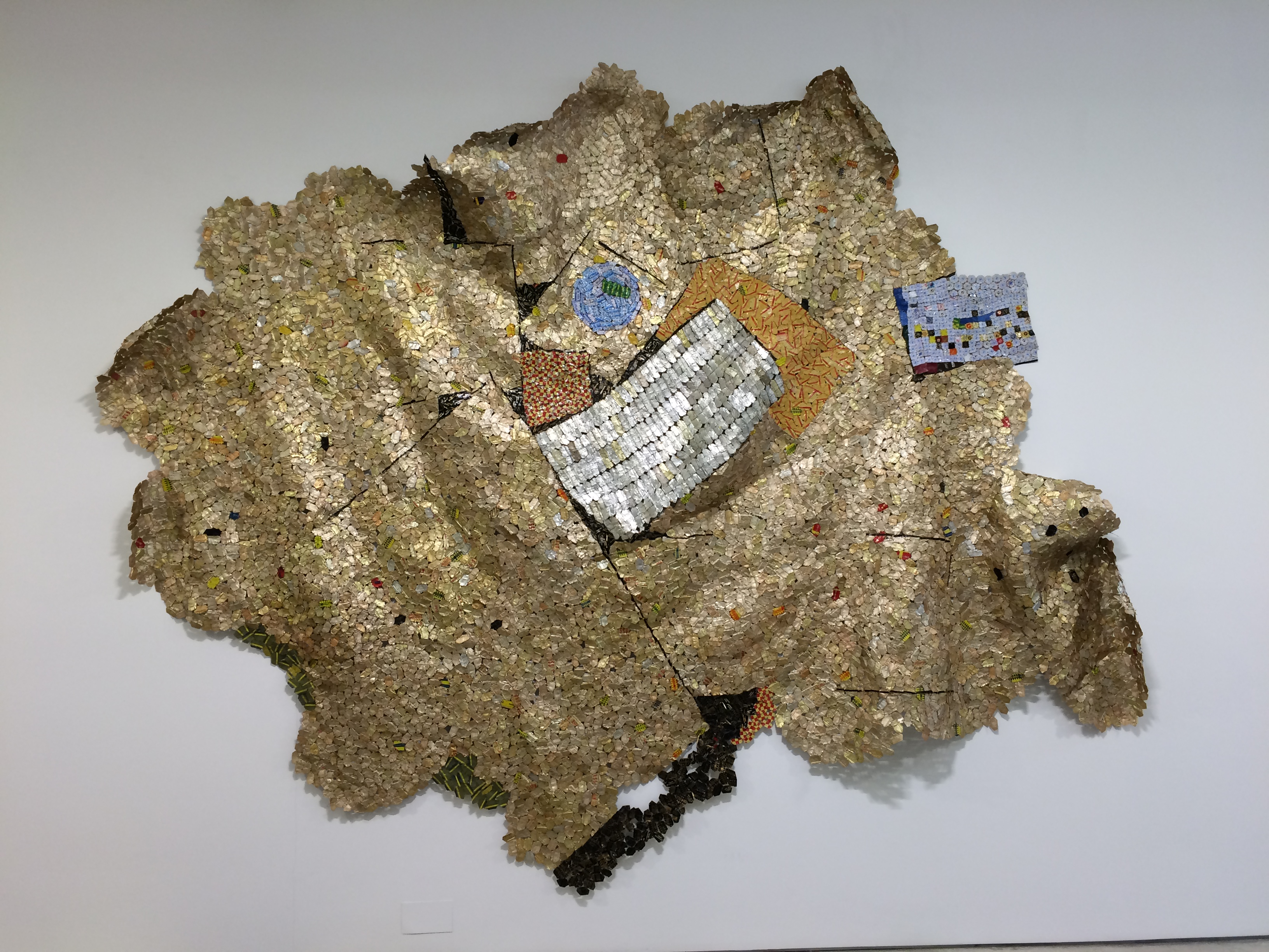 El Anatsui, Trains of Thought