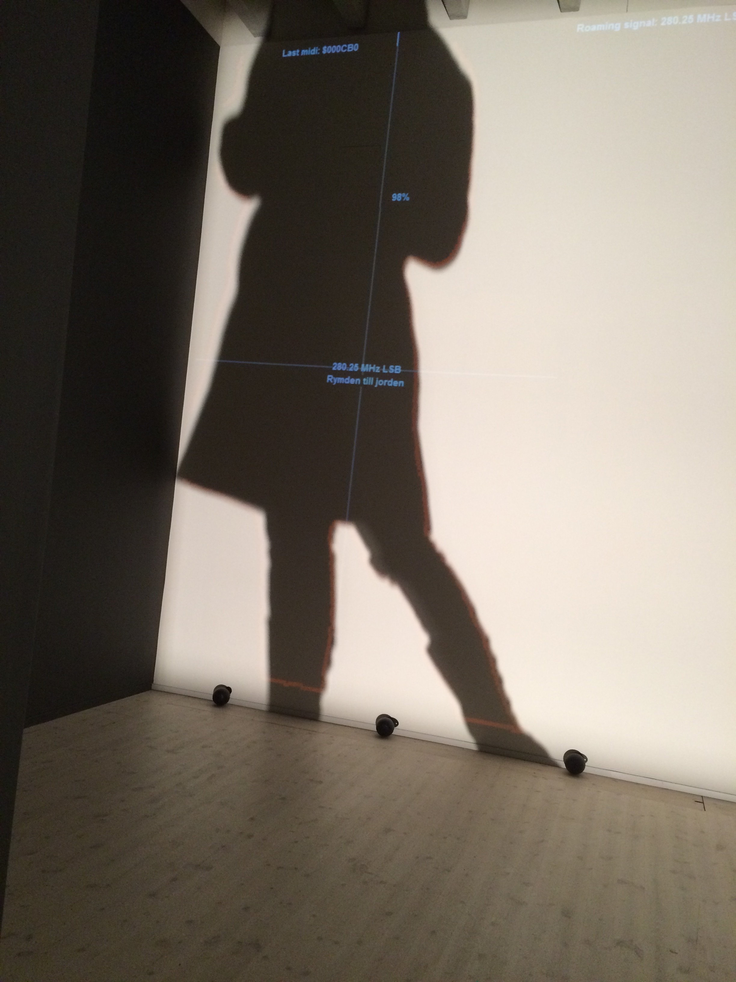 Rafael Lozano Hemmer's Frequency and Voume