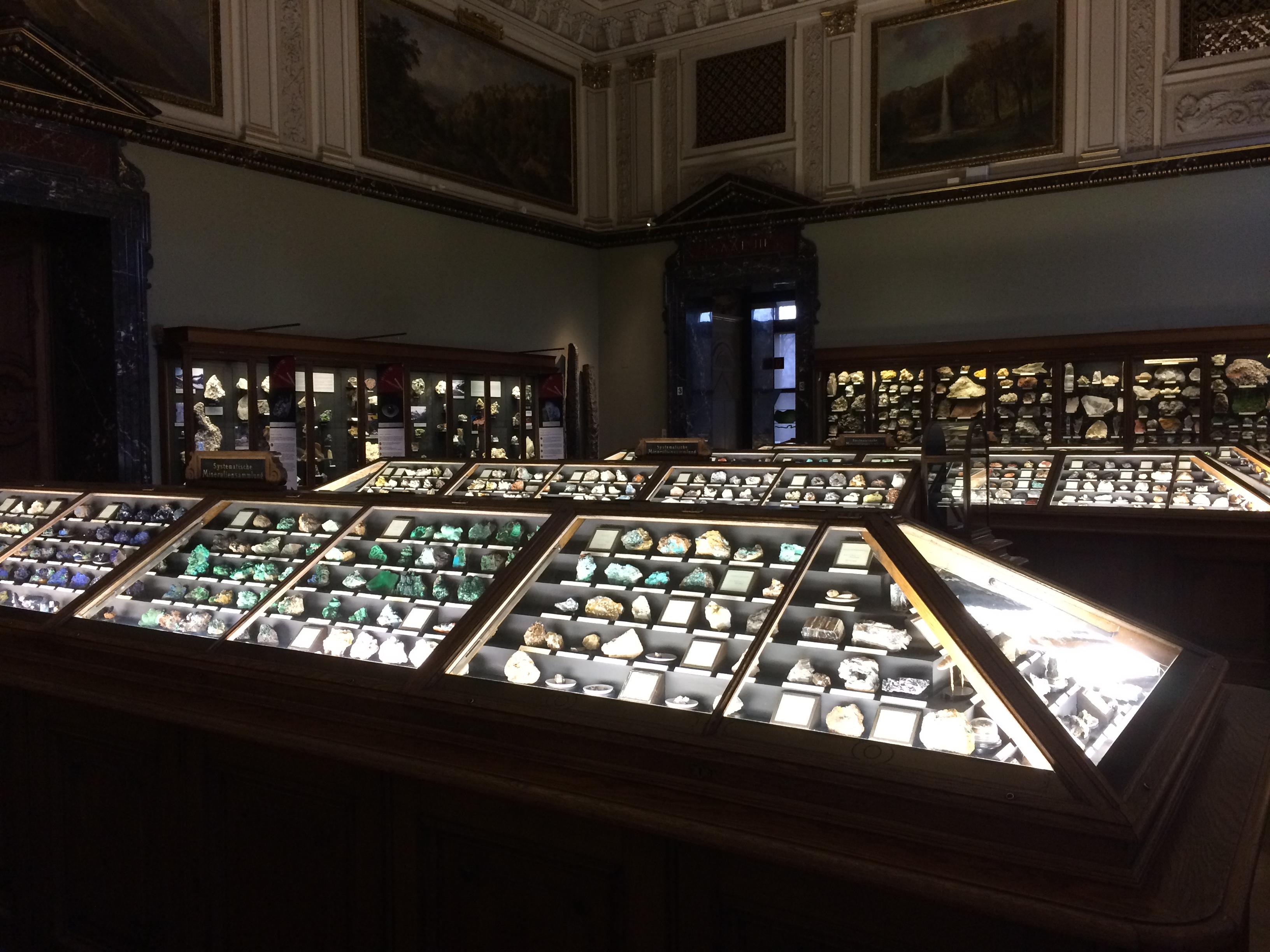 Minerals @ Naturhistorisches Museum Wien