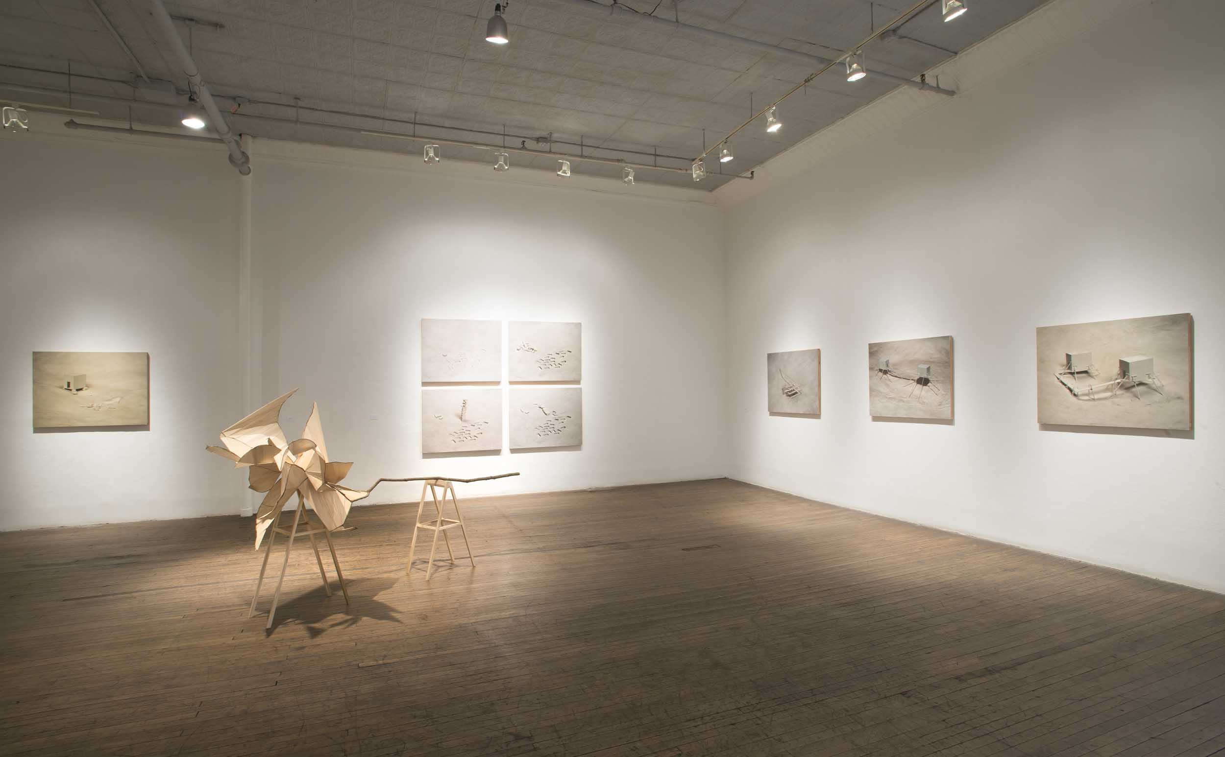 Wexler--Breaking Ground, 2014 (install view of South Gallery D)