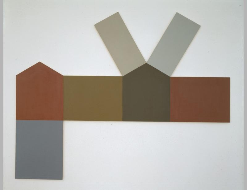 Allan Wexler, Folded Houses, 1998