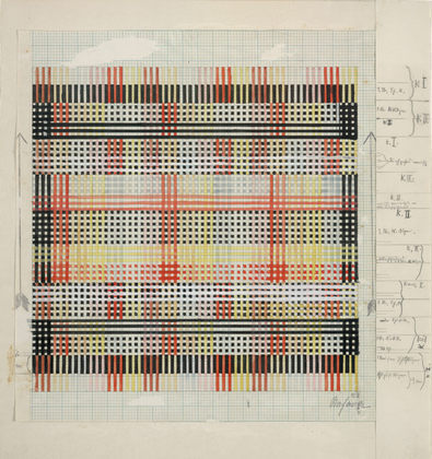 Anni Albers Design for Tablecloth