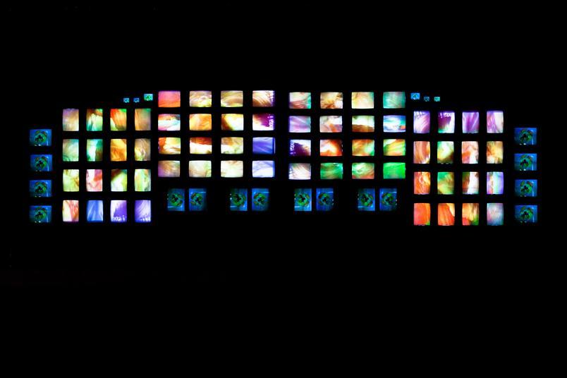 Paik, M200/Video Wall