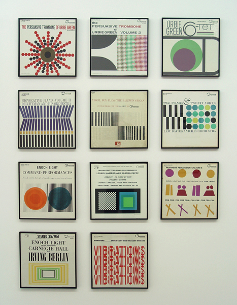 Josef Albers album covers (via new grass)