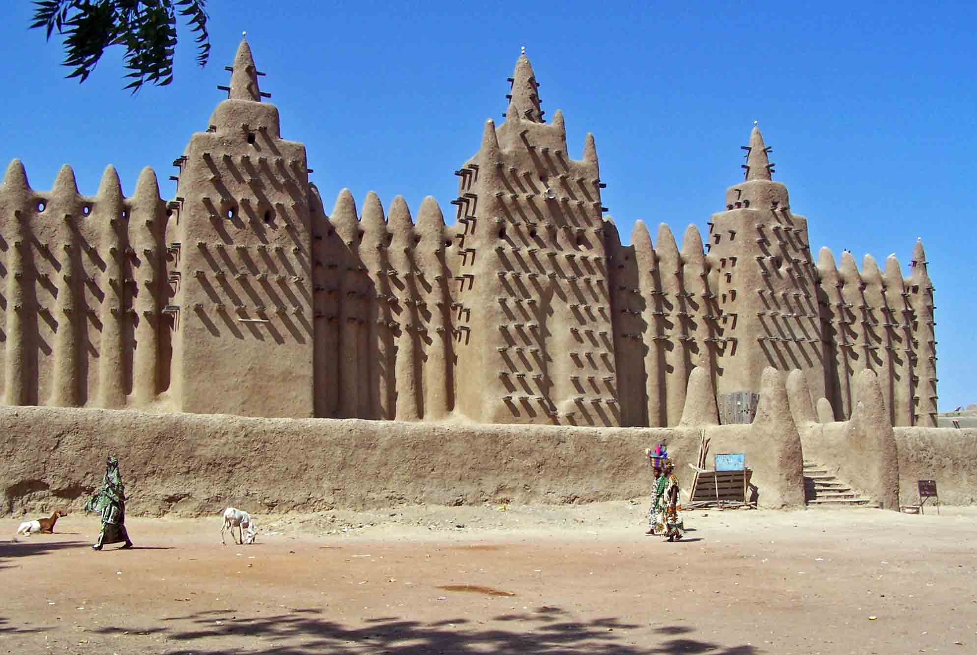 Djinguereber Mosque, Timbuktu