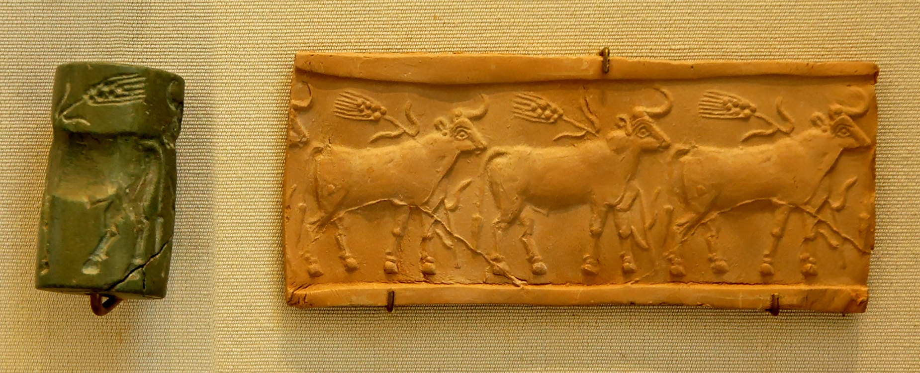 Cylinder Seal, Louvre