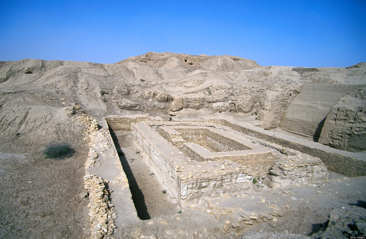 Bit Resh temple at Uruk. Getty Images