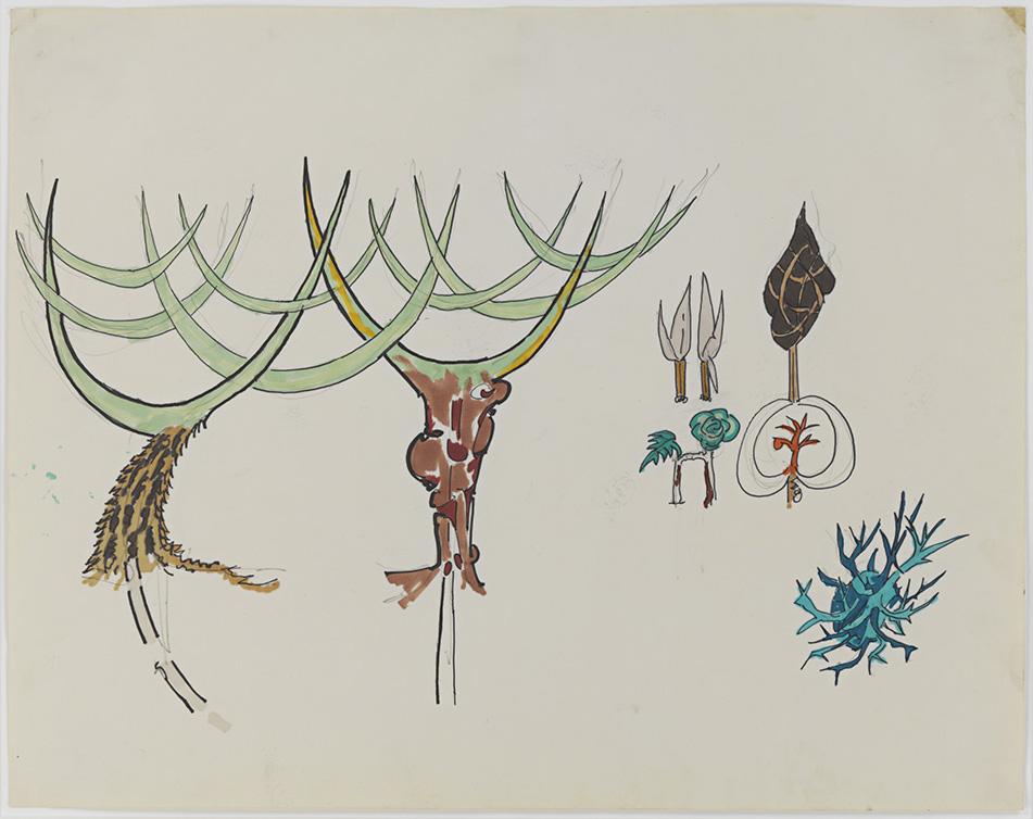 Gordon Matta-Clark, Tree Forms