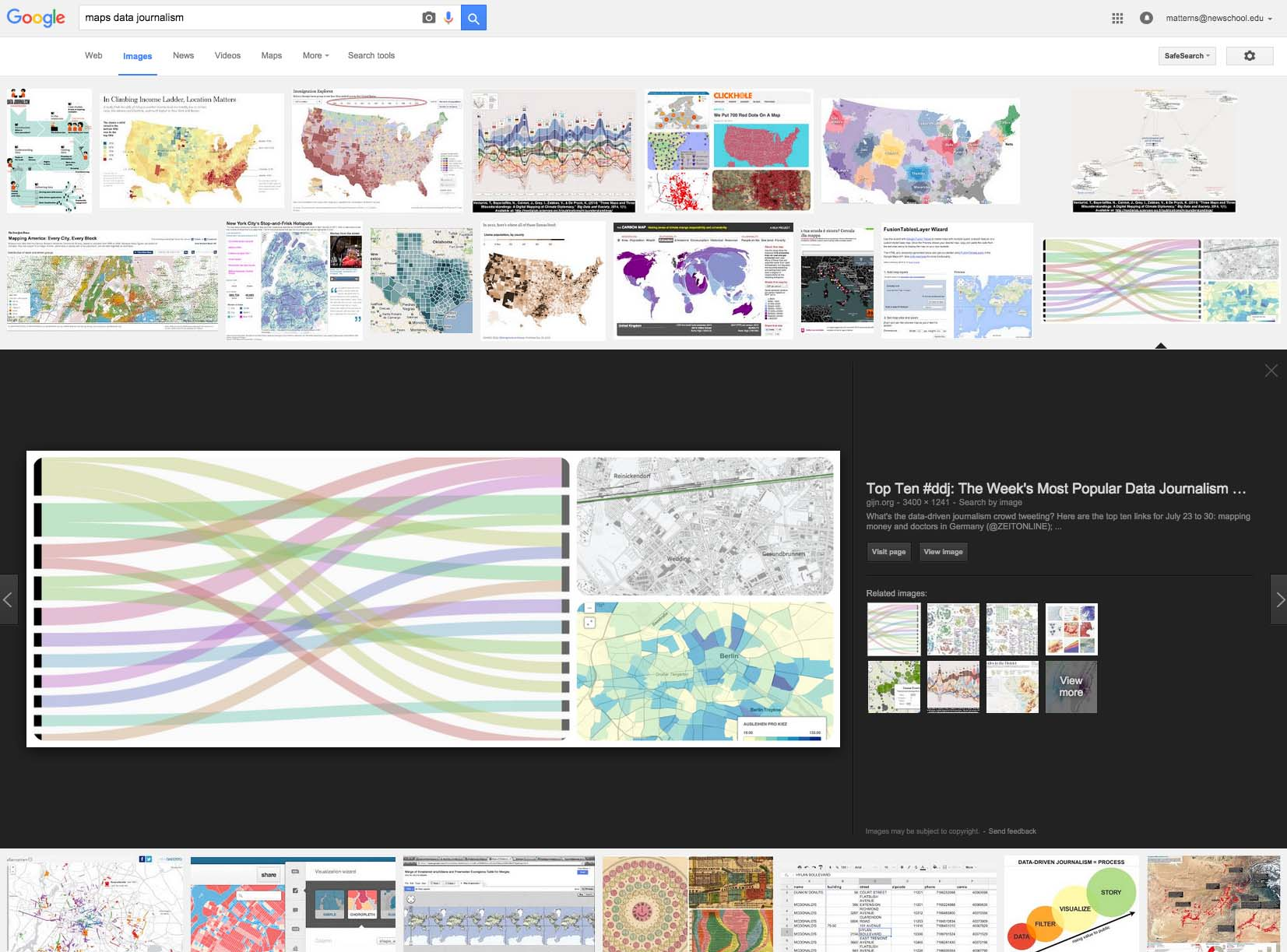 Maps in Data Journalism