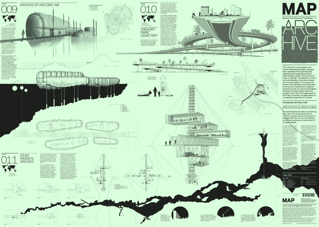 David Garcia Studio, Manual of Architectural Possibilities